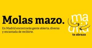 Madrid destaca como ciudad del abrazo   Campaña 'Madrid te abraza'   Ayuntamiento de Madrid 2018   Molas mazo