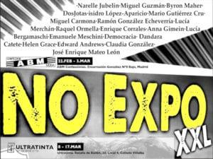 No Expo XXL | 22/02-03/03/2019 | ABM Confecciones | Puente de Vallecas (Madrid) | Ultratinta | Collado-Villalba (Comunidad de Madrid) | Cartel