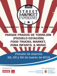 3ª Pozuelo Food Truck | Gastronetas y rock'n roll | 22-24/03/2019 | Parque Prados de Torrejón | Pozuelo de Alarcón | Comunidad de Madrid | Cartel