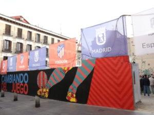 Fútbol social en Lavapiés   Ayuntamiento de Madrid   Fundación Atlético de Madrid   Dragones de Lavapiés   Cambiando del juego