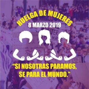 Manifiesto Feminista 8M 2019 | Comision Feminista 8 de Marzo Madrid | Hacia la huelga feminista | 08/03/2019 | Si nosotras paramos, se para el mundo