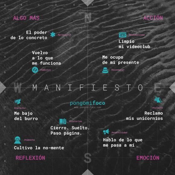 Manifiesto - Pongo mi foco