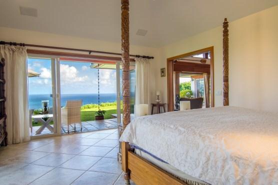 Master lanai and ocean view