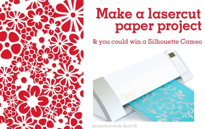 Make A Lasercut Paper Project With Ponoko To Win A