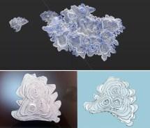 Creating Cloudscape Sculptures Laser Cut Layers