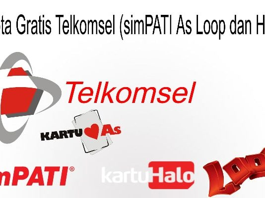 Kuota Gratis Telkomsel 2020 (simPATI As Loop dan Halo)