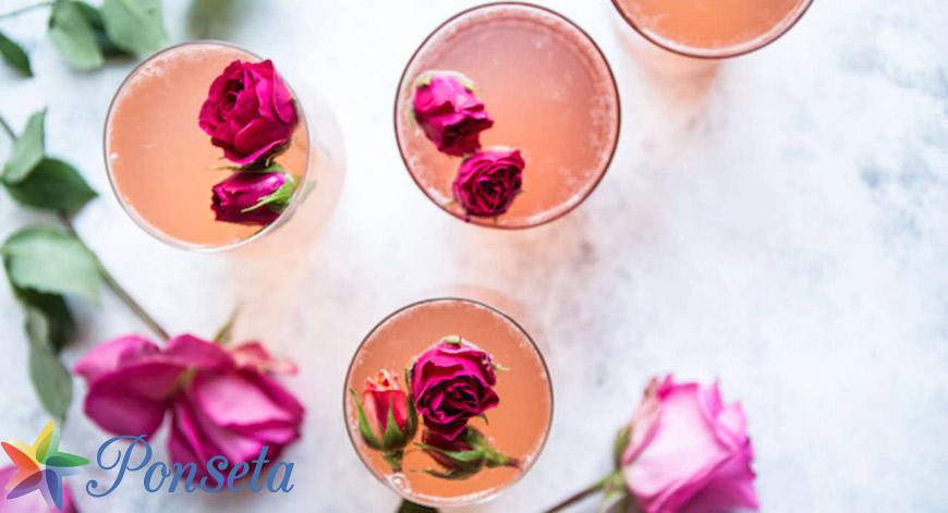 مشروبات الورد