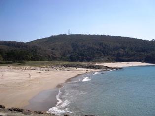 Vista de la playa de Balarés