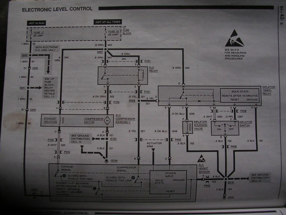 medium resolution of 1992 1999 dscn4404 someone cut the air compressor wires 1992 1999 pontiac bonneville ssei problems