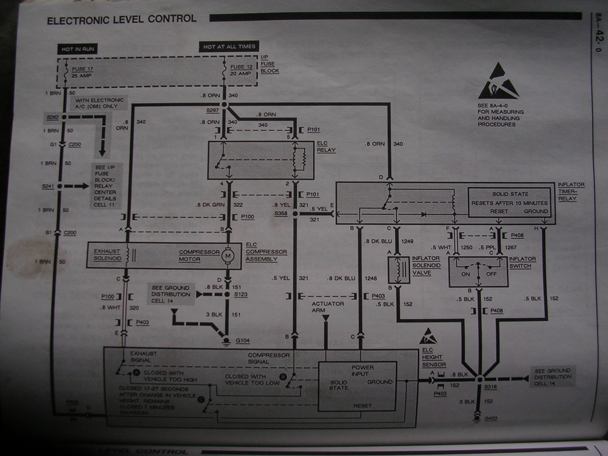 hight resolution of 1992 1999 dscn4404 someone cut the air compressor wires 1992 1999 pontiac bonneville ssei problems