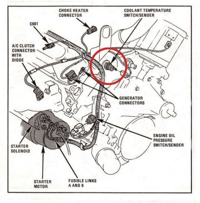 3800 V6 Engine Sensor Locations GM 3800 Engine Wiring