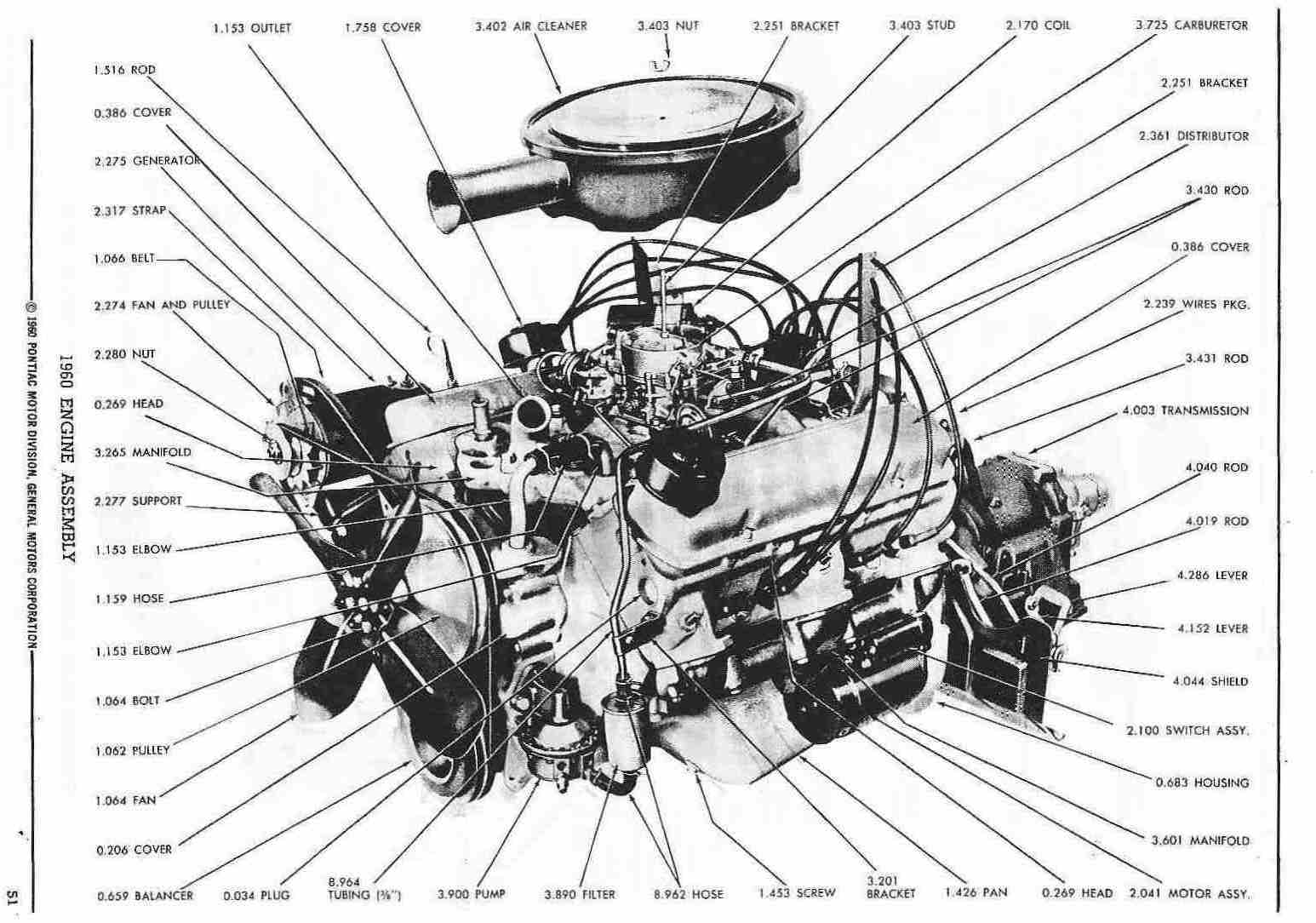 toyota engine parts diagram ford sierra cosworth wiring pontiac 1960 master catalog