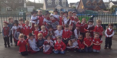 Celebrating St David's Day in Nursery.