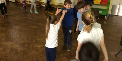 Welsh Dancing in Year 3