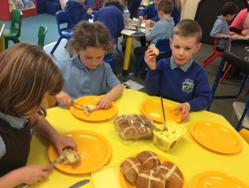 Reception's Easter Treat.