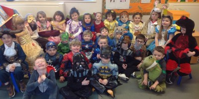 World Book Day in Reception!