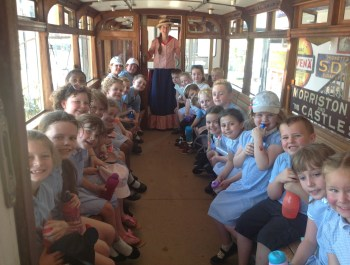 Visiting the Mumbles Tram