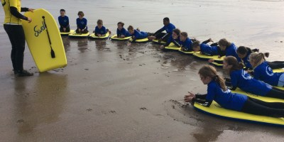 Bodyboarding and Orienteering Group 1