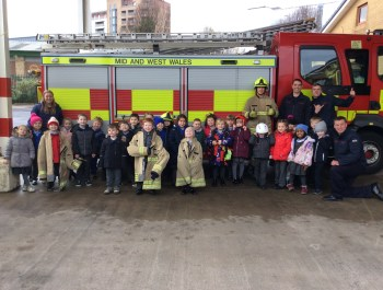 Fun at the fire station