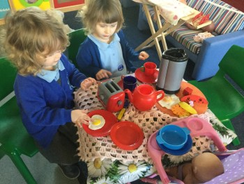 Another Busy Day in Nursery.