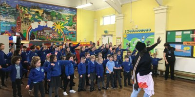 African Community Centre Visit Year 1 and Year 5