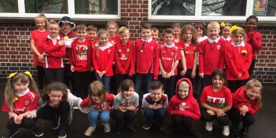 Year 3 are proud to be Welsh!