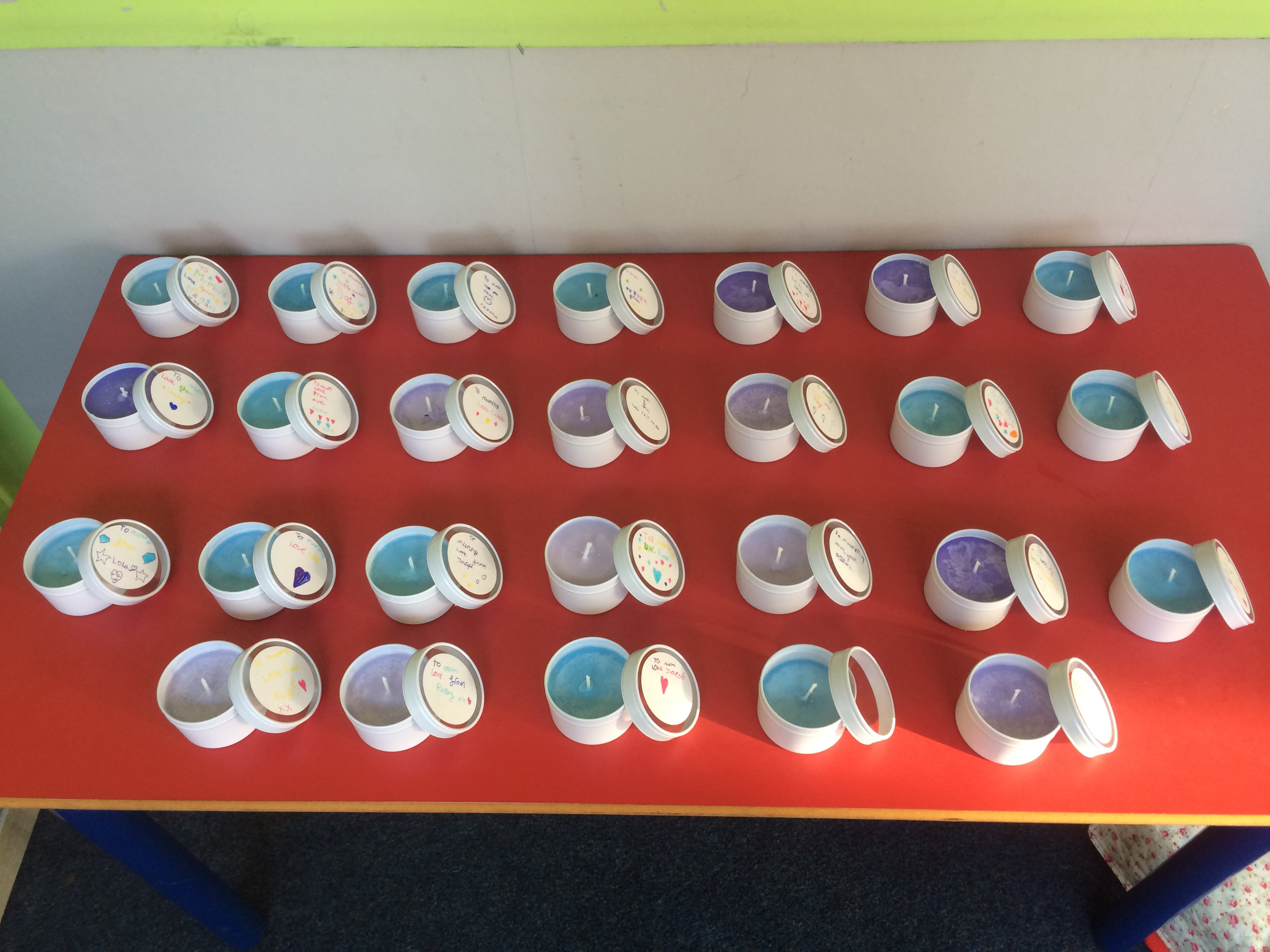 Year 3 Beautiful Candle Creations