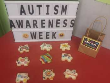 Year 3 are Proud to be Autism Aware