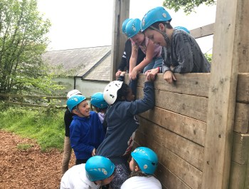 Jump Bag, Horse Riding and Low Ropes!