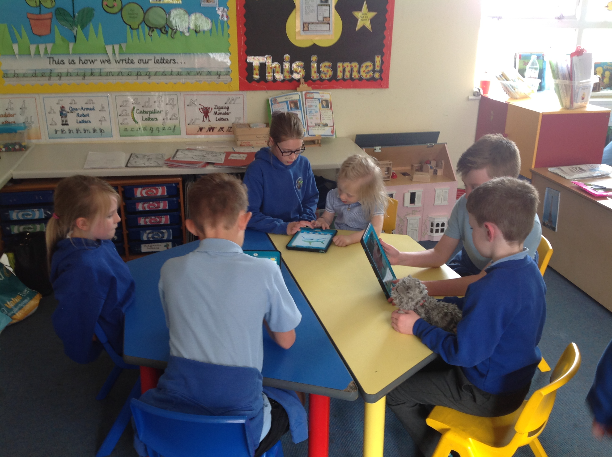 Year 1 explore Chatterpix
