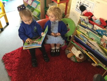 Story Time In Nursery.