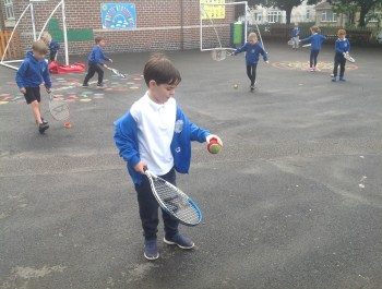 Tennis Taster in Year 1