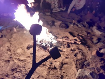 Fire and Marshmallows.