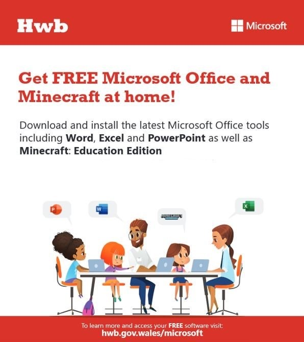 Free Minecraft and Microsoft Office!