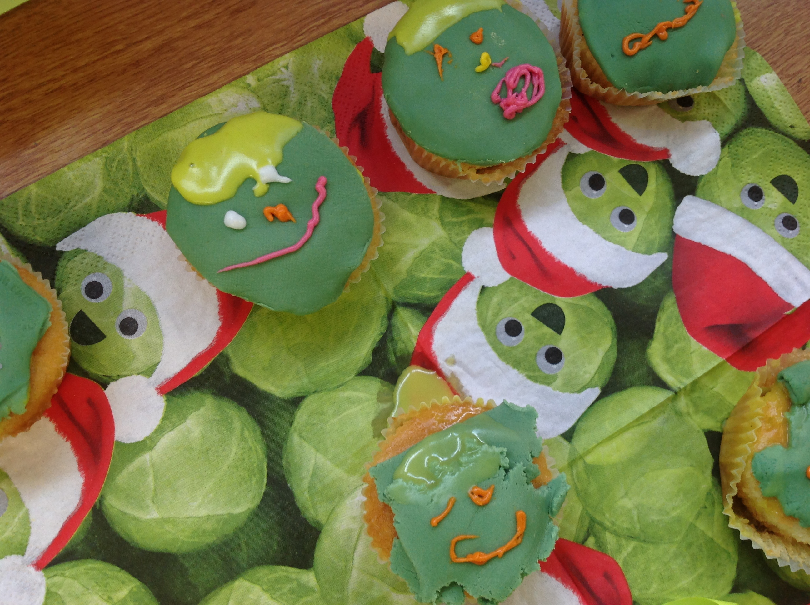 Designing and creating Sprout Cakes!
