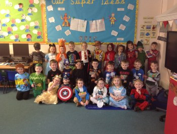 World Book Day In Reception