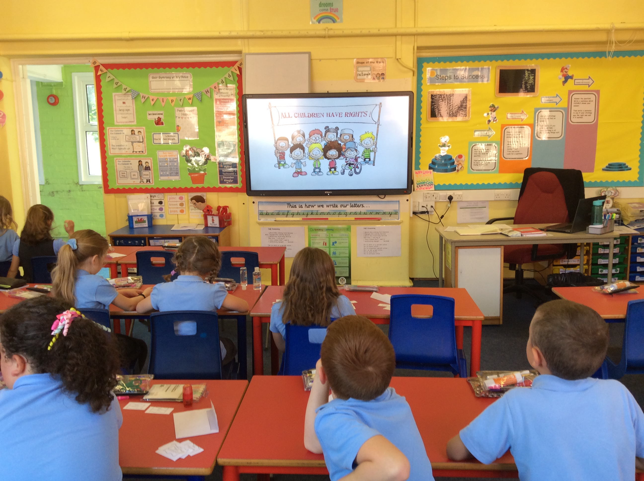 Learning about our Rights in Year 3