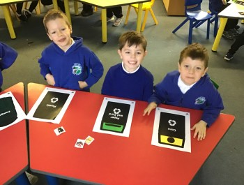Learning all about Recycling in Year 1!