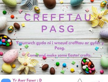 Easter Activities with the Urdd