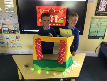 Year 1 Puppet Show!