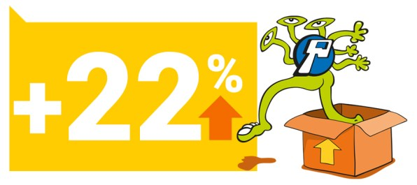 Pontodesign Cresce 22%