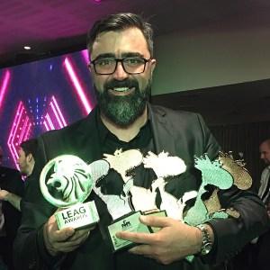 pontodesign ganha 5 prêmios no FePI e com isso é premiada com o LEAG Awards.