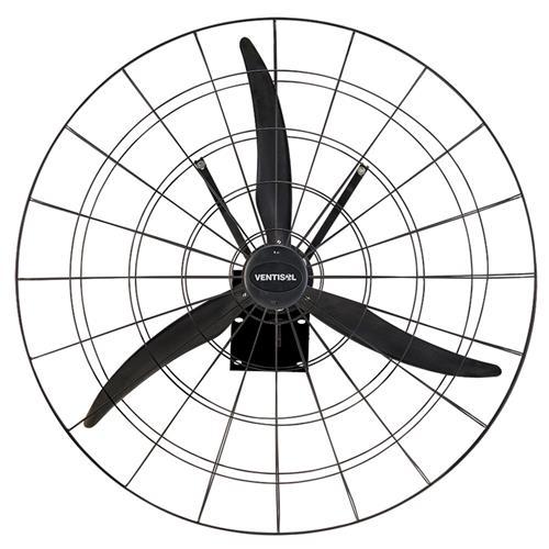 Ventilador Industrial de Parede Ventisol 1 Metro Preto
