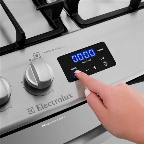 Fogo de Embutir Electrolux 5 Bocas o Celebrate Premium 76EFX com Painel Digital Blue Touch