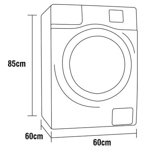 Lava e Seca Samsung WD85M4453MW com Tecnologia Air Wash