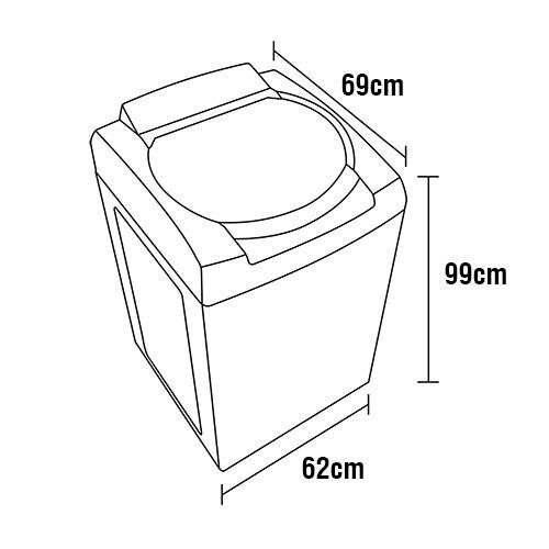 Lavadora de Roupas Consul 12 kg CWS12AB Eco Enxágue