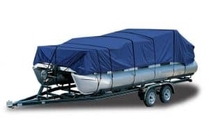 budge blue 1200 denier pontoon boat cover