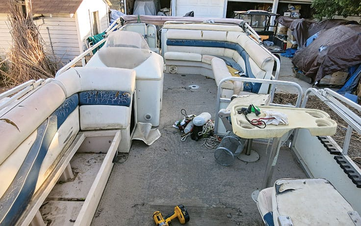 old-pontoon-seats-need-replacement