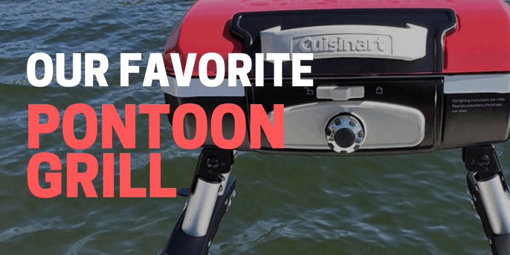 best pontoon grill and mount