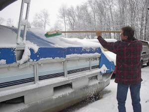 best snow cover for pontoon boat maintenance
